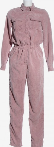 Missguided Langer Jumpsuit in XXS in Pink