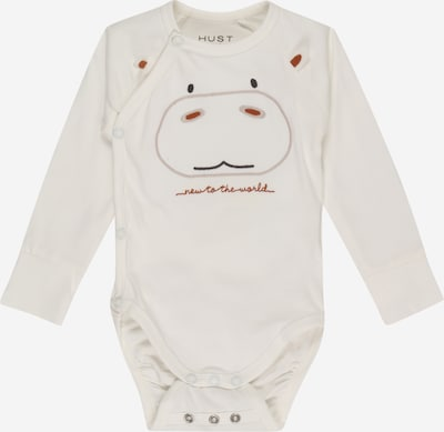 Hust & Claire Pijama entero/body 'Biggi' en rojizo / negro / blanco natural, Vista del producto