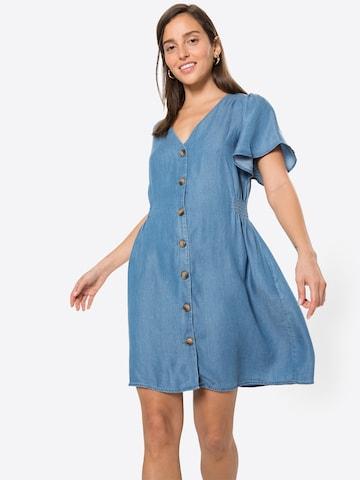 Rochie tip bluză de la ICHI pe albastru