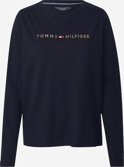 Tommy Hilfiger Underwear Majica za spanje | temno modra / zlata / rdeča / bela barva, Prikaz izdelka
