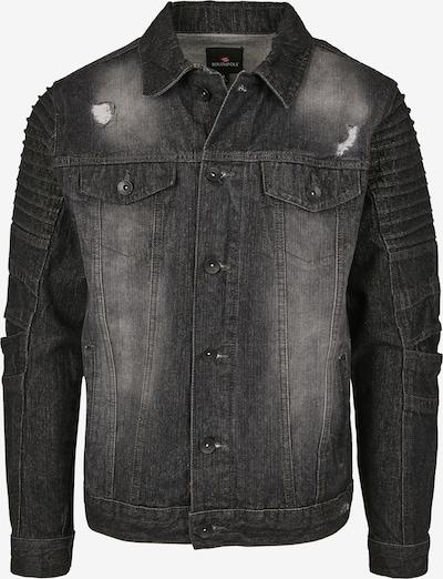 SOUTHPOLE Tussenjas in de kleur Black denim, Productweergave