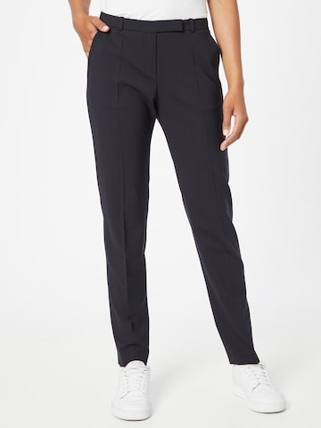 HUGO - Pantalón de pinzas en azul