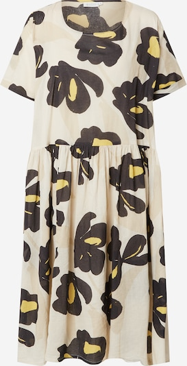 Masai Haljina u šampanjac / žuta / crna, Pregled proizvoda