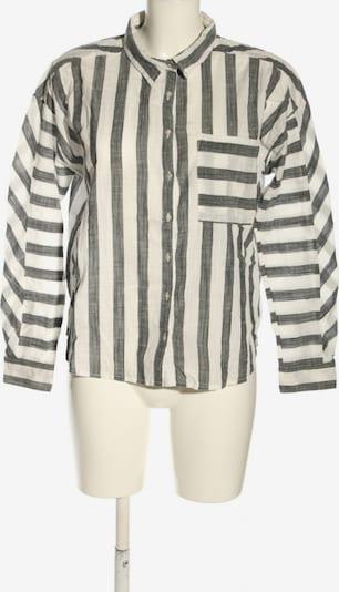 Garcia Jeans Langarm-Bluse in M in schwarz / wollweiß, Produktansicht
