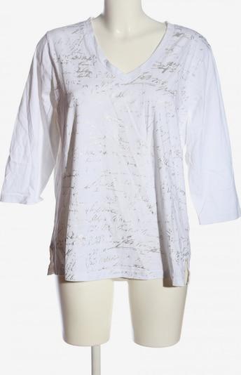 DressInn Longshirt in XXXL in hellgrau / weiß, Produktansicht