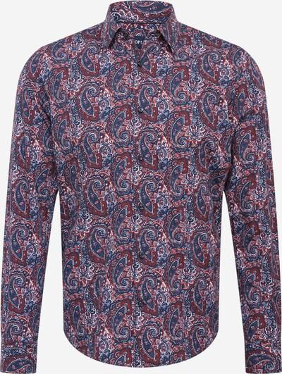 JOOP! Košeľa - námornícka modrá / tmavofialová / tmavočervená / biela, Produkt