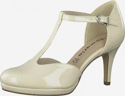 TAMARIS Čevlji s peto | nude barva, Prikaz izdelka