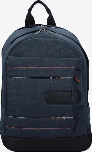 American Tourister Rucksack in blau / rot / schwarz / weiß, Produktansicht