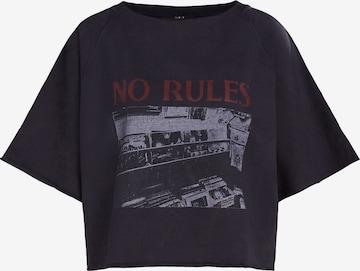 SET Sweatshirt in Black
