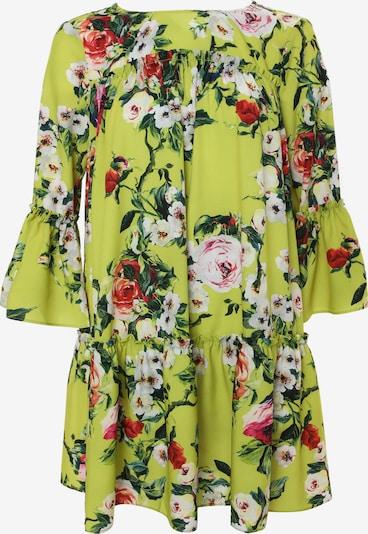 Madam-T Sommerkleid 'EDEMIA' in grün / rot, Produktansicht