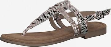 Sandales MARCO TOZZI en or