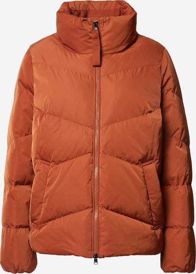 BRAX Veste mi-saison en orange foncé, Vue avec produit