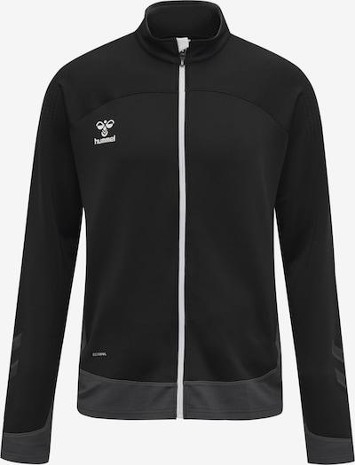 Hummel Sportjas in de kleur Zwart / Wit, Productweergave