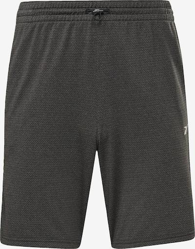Sportinės kelnės iš Reebok Sport, spalva – margai juoda / balta, Prekių apžvalga