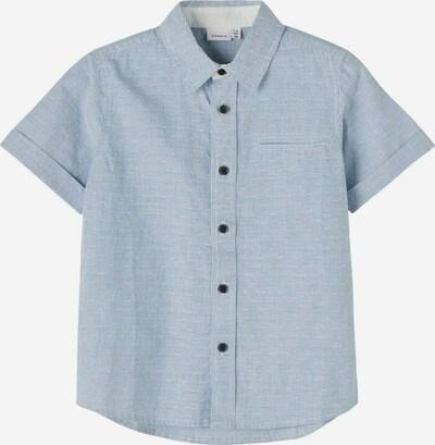 NAME IT Overhemd in de kleur Blauw / Wit, Productweergave