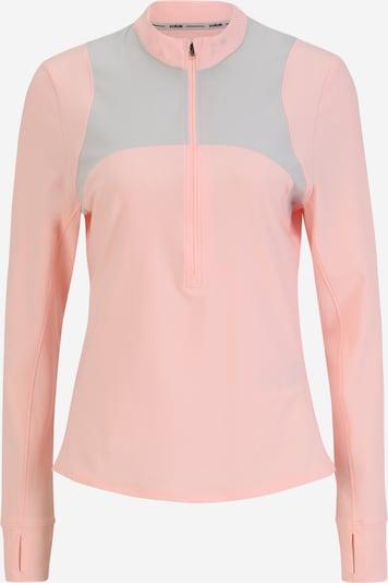 UNDER ARMOUR T-shirt fonctionnel 'Qualifier' en gris / rose, Vue avec produit