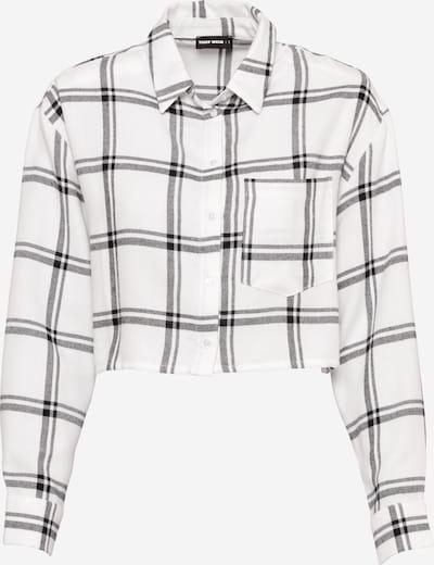 Tally Weijl Bluse in schwarz / schwarzmeliert / weiß, Produktansicht