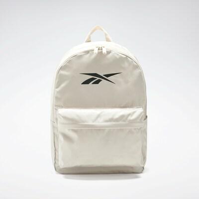 REEBOK Sportrugzak in de kleur Beige / Zwart, Productweergave