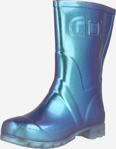 Cizme de cauciuc BECK pe albastru, Vizualizare produs