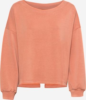 Superdry Athletic Sweatshirt in Orange