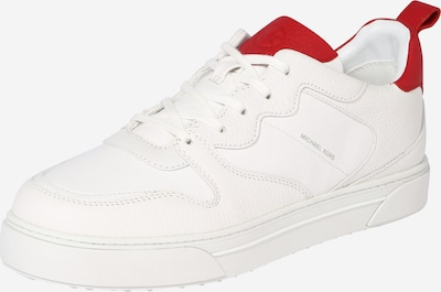 MICHAEL Michael Kors Sneakers laag 'BAXTER' in de kleur Rood / Wit, Productweergave