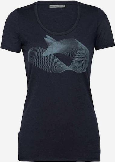 ICEBREAKER T-Shirt in blau / hellblau, Produktansicht