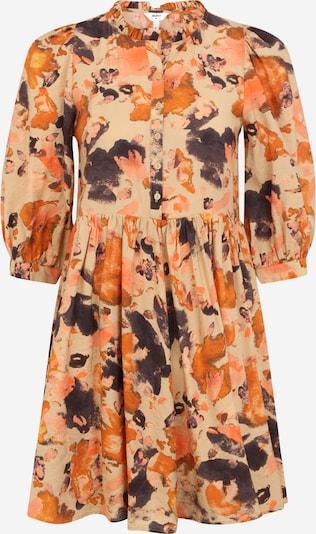 OBJECT (Petite) Košeľové šaty 'GALINA' - piesková / grafitová / oranžová / broskyňová, Produkt