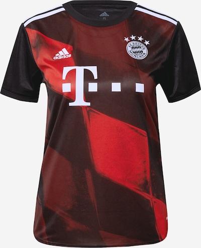 piros / fekete ADIDAS PERFORMANCE Mezek 'FC Bayern München 20/21', Termék nézet