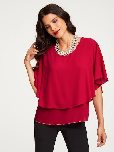 Patrizia Dini by heine Blouse in de kleur Rood, Modelweergave