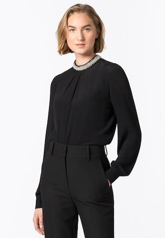 HALLHUBER Bluse in Schwarz