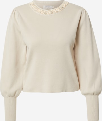 ONLY Pullover in Beige
