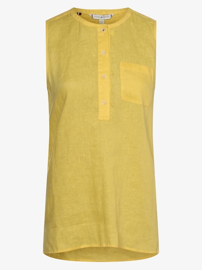 TOMMY HILFIGER Blusentop in gelb, Produktansicht