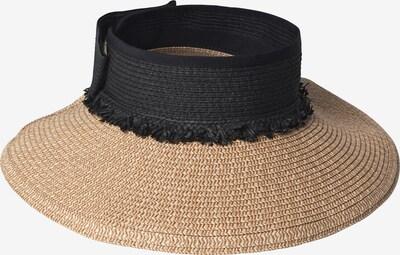 BeckSöndergaard Hatt 'Savanna' i ljusbrun / svart, Produktvy
