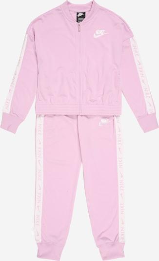 Nike Sportswear Anzug in pink / weiß, Produktansicht