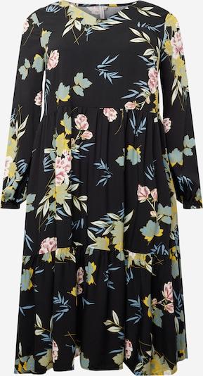 ONLY Carmakoma Robe en mélange de couleurs / noir, Vue avec produit