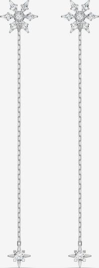 Swarovski Uhani | srebrna barva, Prikaz izdelka