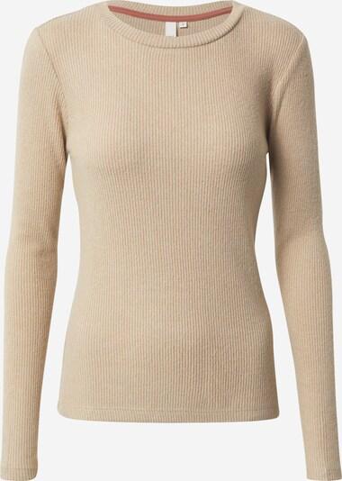 Q/S designed by Shirt in beige, Produktansicht