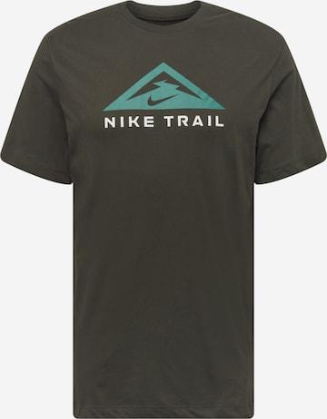 Tricou funcțional de la NIKE pe verde
