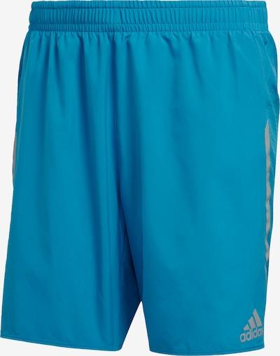 ADIDAS PERFORMANCE Sportbroek 'Saturday' in de kleur Turquoise / Grijs, Productweergave