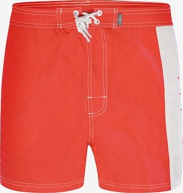 Shorts de bain ' Dante ' bugatti en rouge