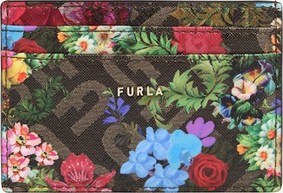 FURLA Denarnica | modra / temno rjava / rumena / zelena / rdeča barva, Prikaz izdelka