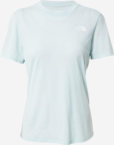 THE NORTH FACE T-shirt fonctionnel en bleu clair, Vue avec produit