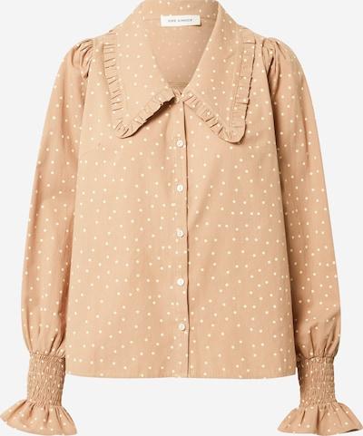 Sofie Schnoor Bluse in beige / weiß, Produktansicht