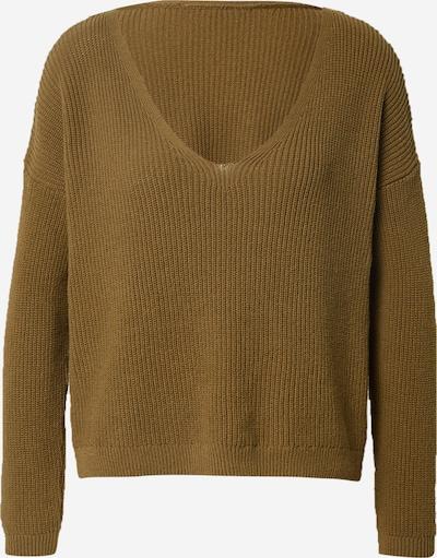 ONLY Pullover 'Fbrynn' in dunkelgrün, Produktansicht