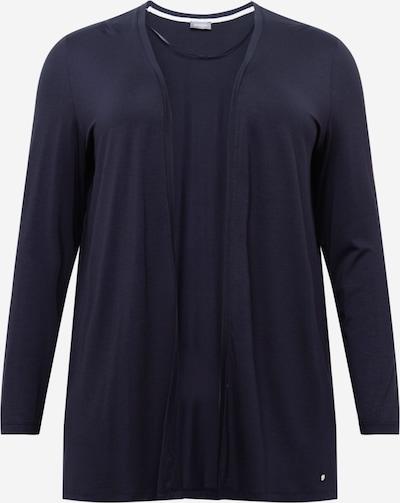 Geacă tricotată SAMOON pe albastru noapte, Vizualizare produs