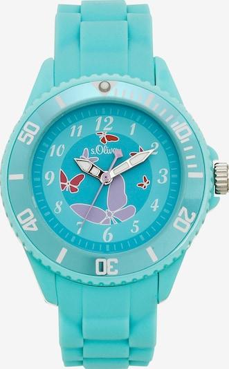 s.Oliver Uhr in türkis, Produktansicht