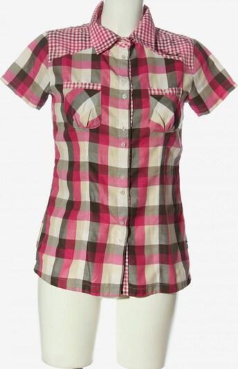 ICEPEAK Kurzarmhemd in M in creme / braun / pink, Produktansicht