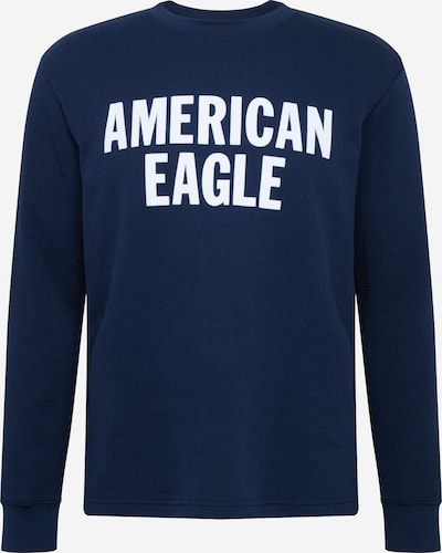 American Eagle Shirt in de kleur Navy / Wit, Productweergave