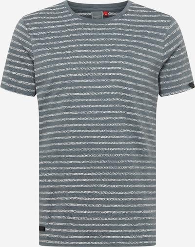 Ragwear Shirt 'STEEF' in Grey / White, Item view