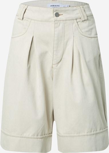 VERO MODA Pantalon à pince 'FIONA' en beige, Vue avec produit